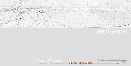 Kunstausstellung / Einladung