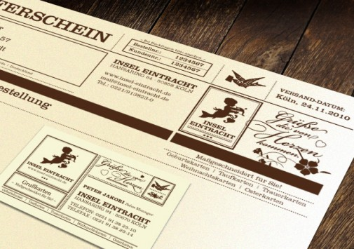 Briefkopf & Visitenkarte