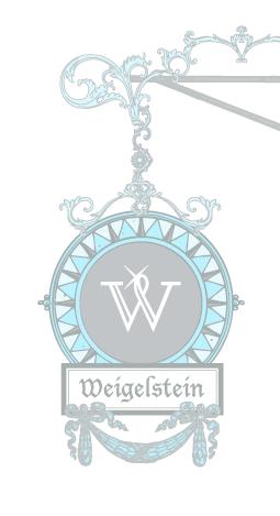 Weigelstein Schild