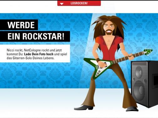 Sei ein Rockstar – Online-Spiel